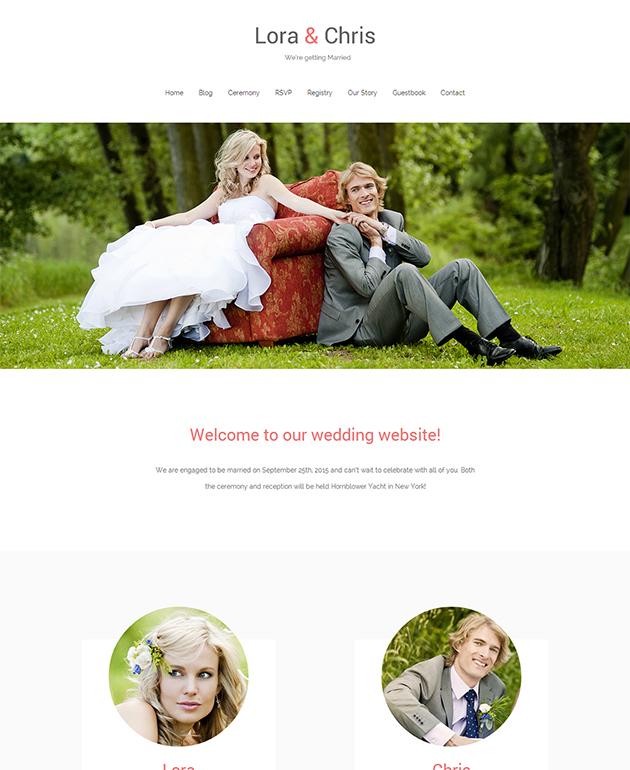 Match Wedding WordPress Theme