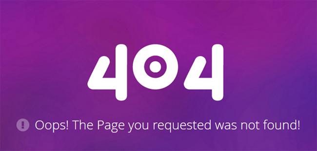 35 Best Free 404 Error Page Website Templates - DoveThemes