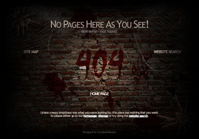 best-free-404-error-page-template