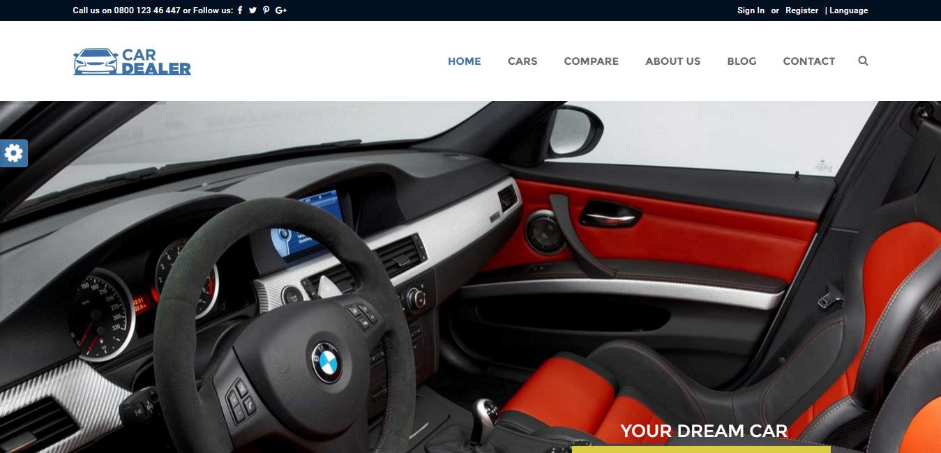 Car Dealer - Responsive WordPress Theme