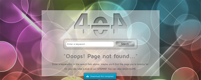 clean-404-page