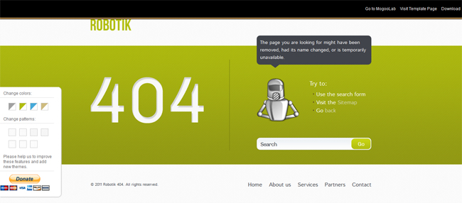 35 best free 404 error page website templates dovethemes
