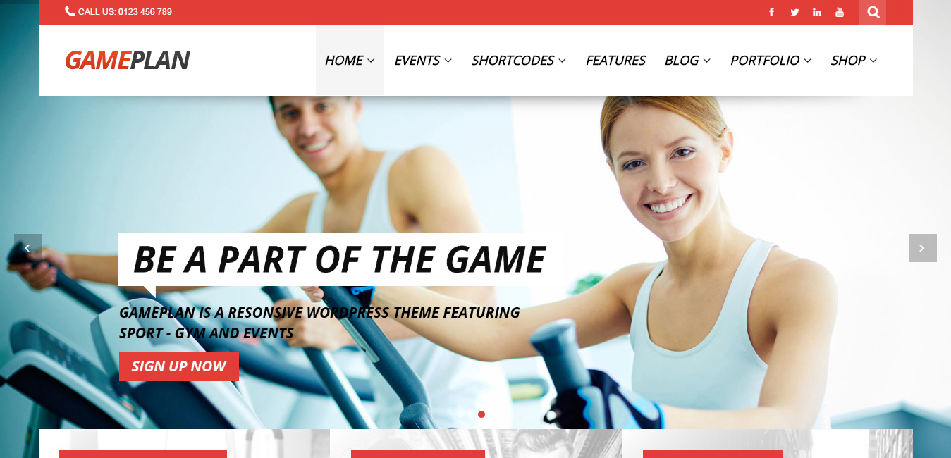 Sports Store WordPress Themes