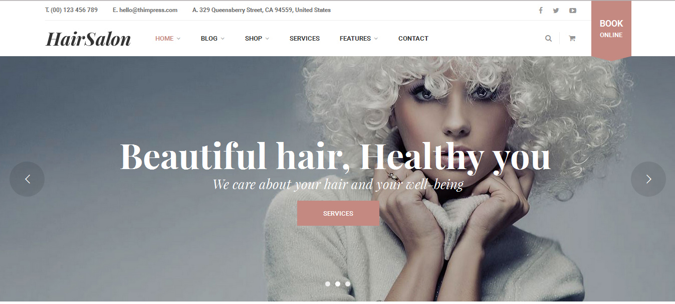 Top 12 Beautiful Skin Care WordPress Themes 2017 - DoveThemes