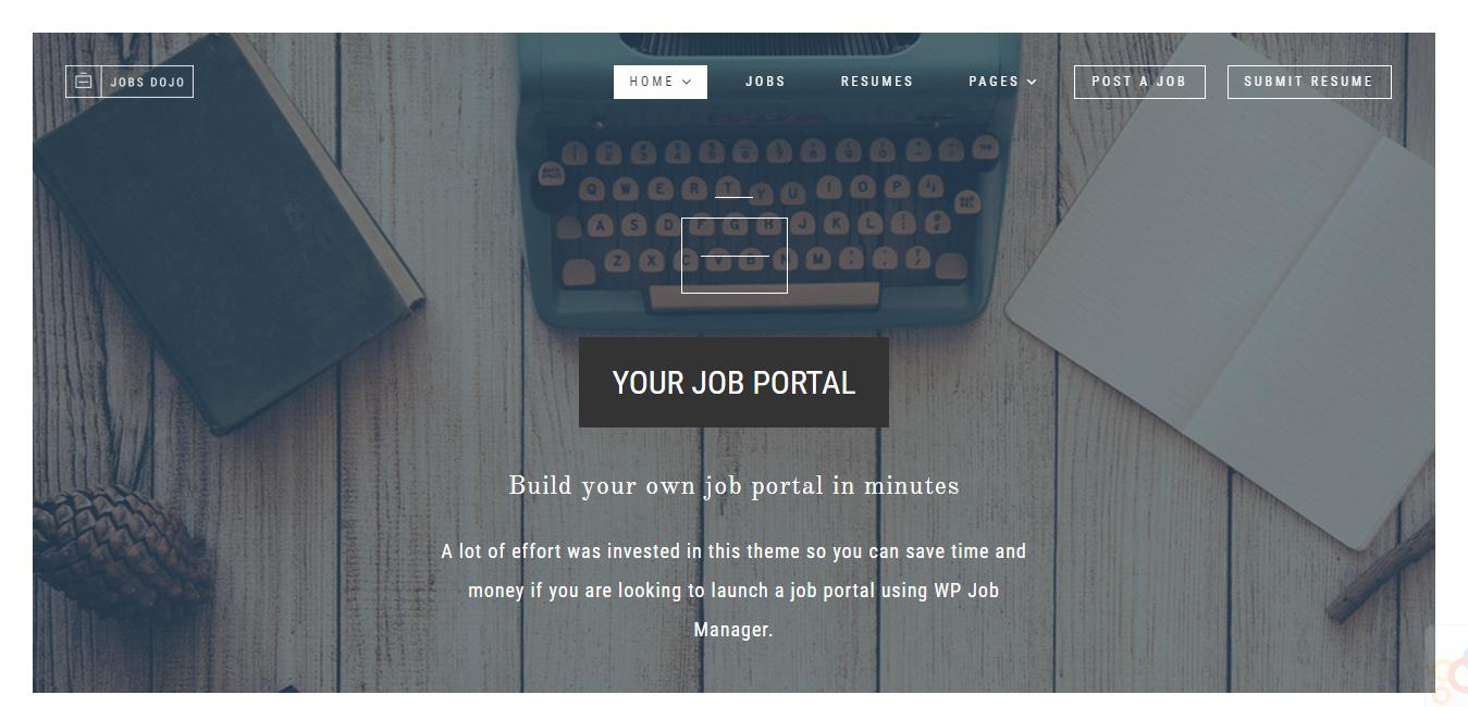 JobsDojo - The WordPress Job Board Portal Theme