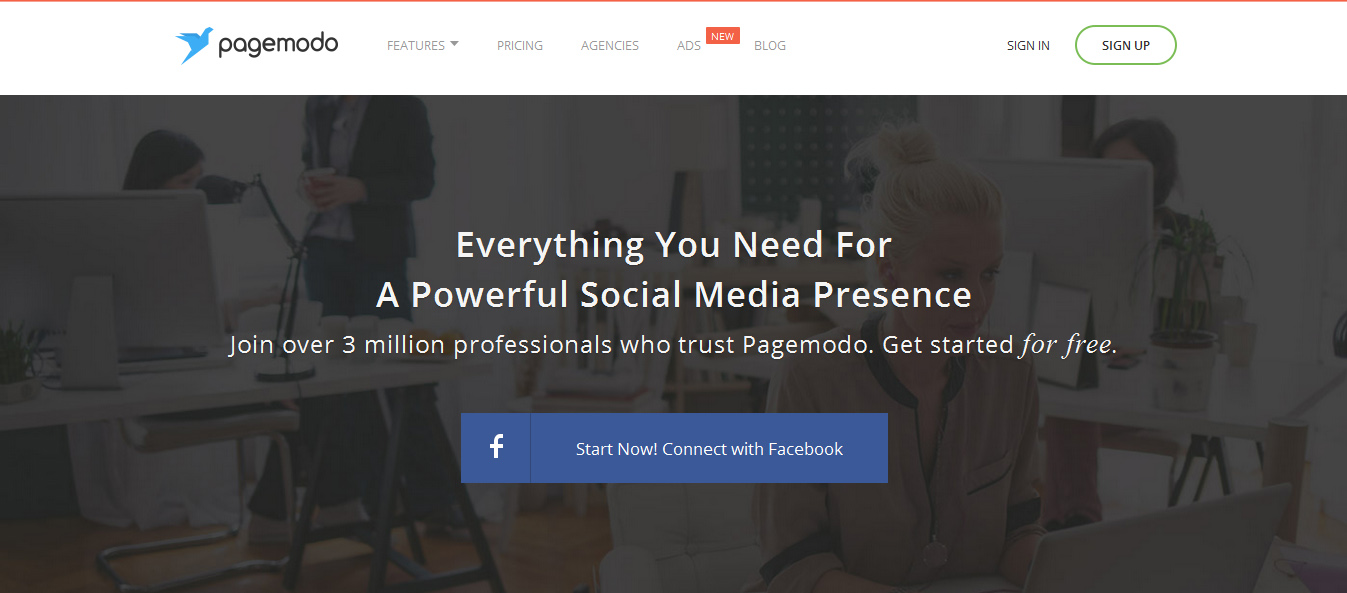 Pagemodo - social media marketing tools
