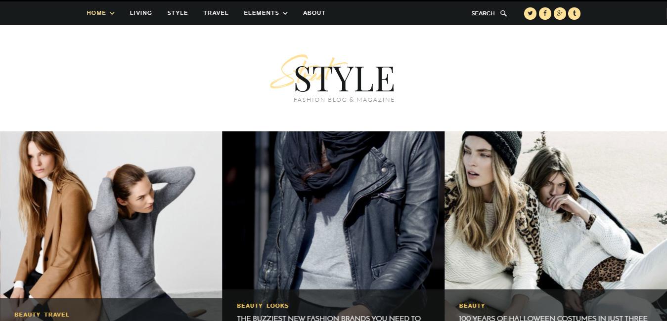 Street Style - Fashion & Lifestyle Personal Blog Theme