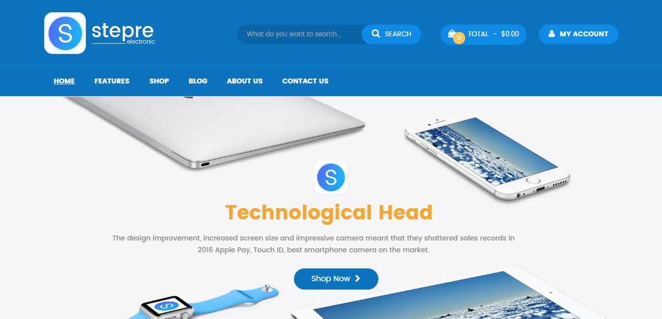 VG Stepre - Multipurpose WooCommerce WordPress Theme