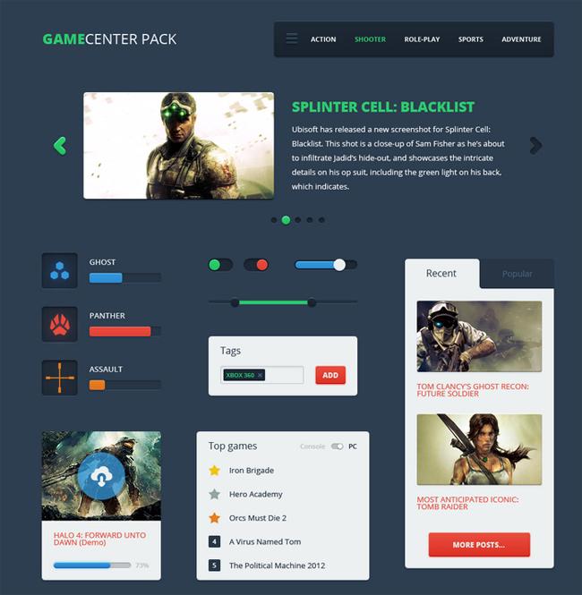 Gamecenter Pack