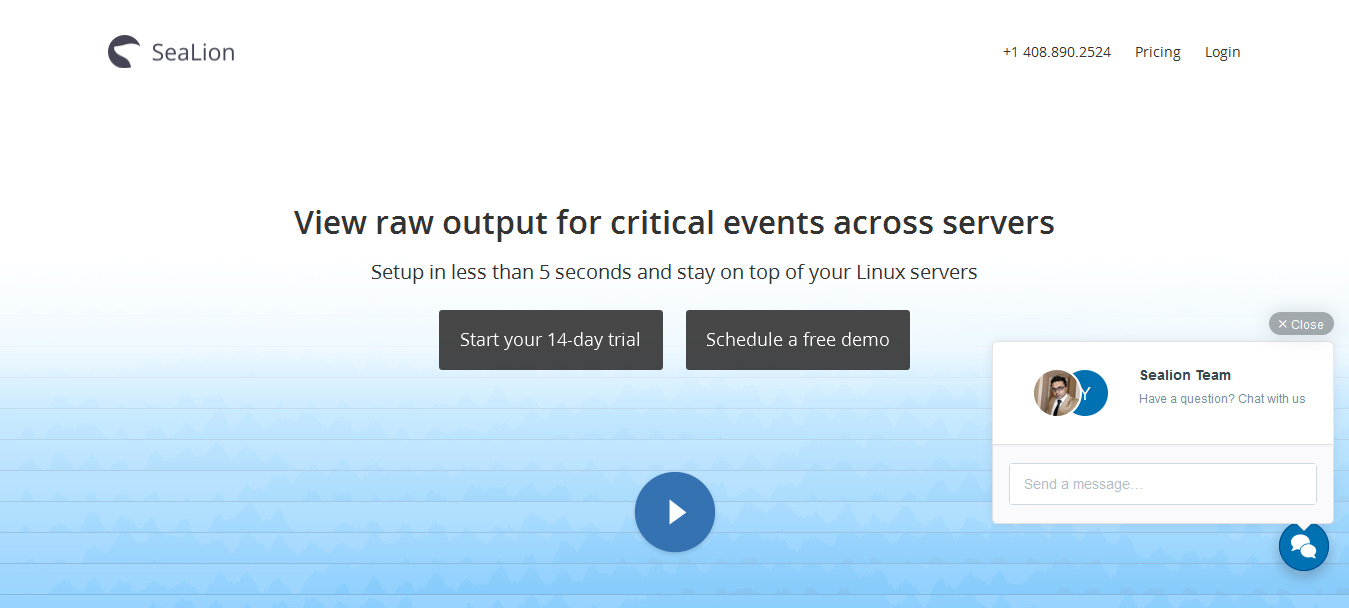 SeaLion - free server monitoring tools