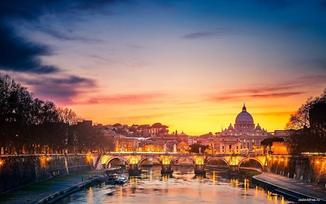 city-sunset