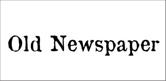 old-newspaper-types-font