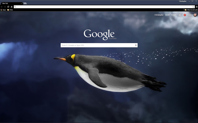 penguin-underwater