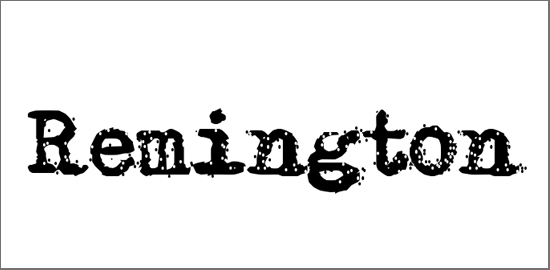 remington-riviera-font