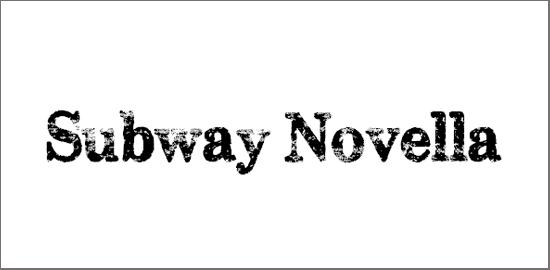 subway-novella-font