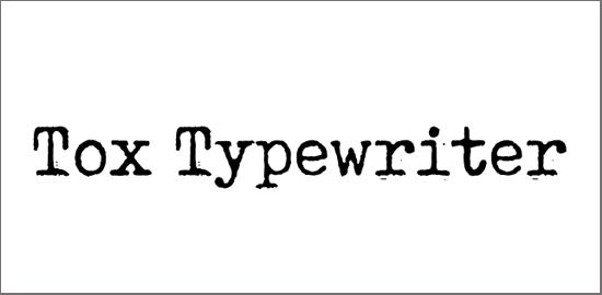 tox-typewriter