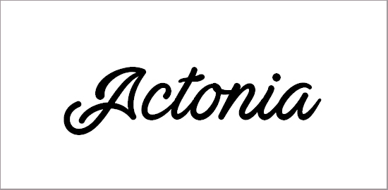 actonia-font