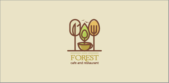 forest-cafe-and-restaurant-logos
