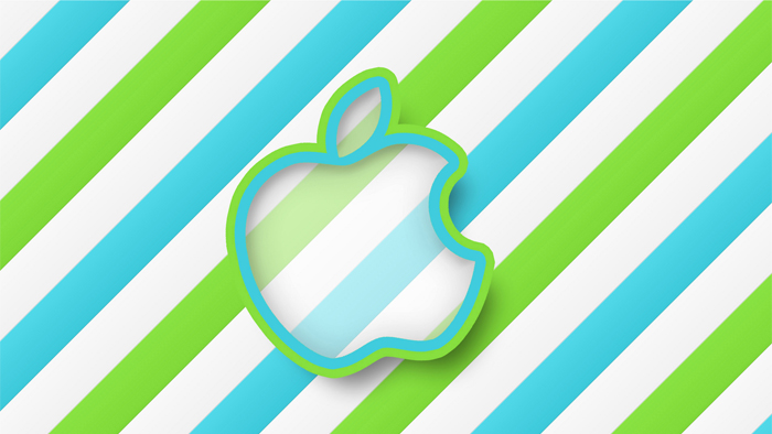 green-stripes-apple-hd