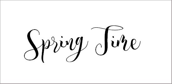 spring-time-font