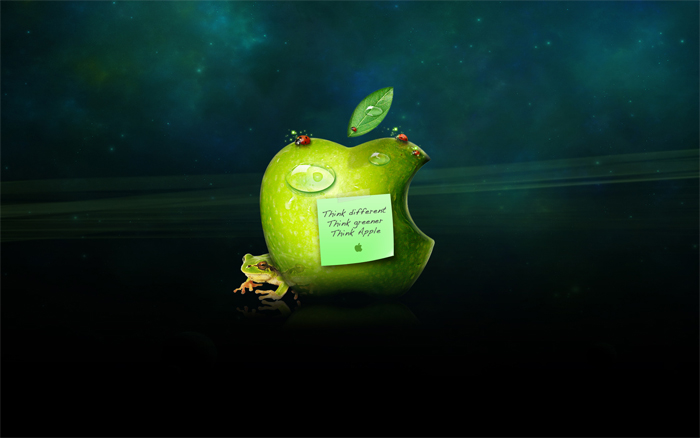 think-green-apple-wallpapers