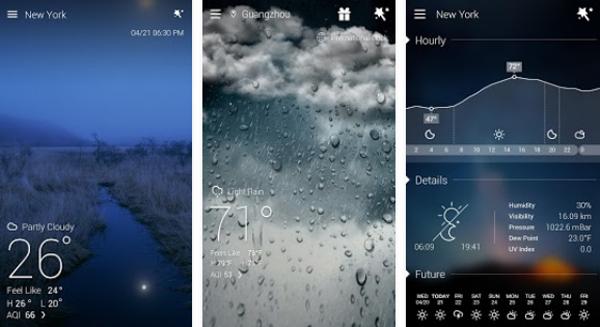 go-weather-forecast-widgets