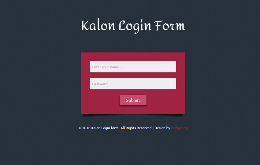 40 Powerful Free CSS3 HTML5 Login Form Templates - DoveThemes