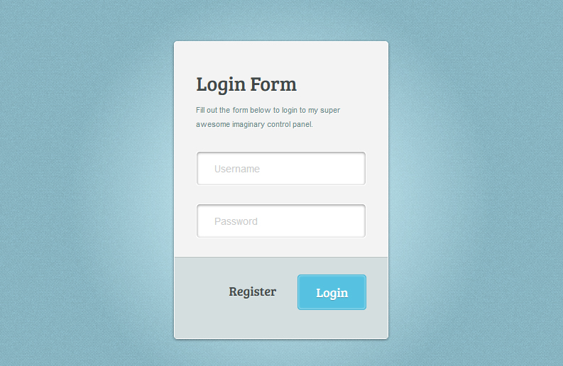 Simple Login Form