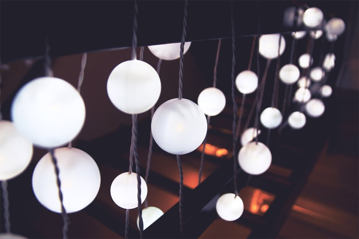 stairs-lights-abstract-bubbles